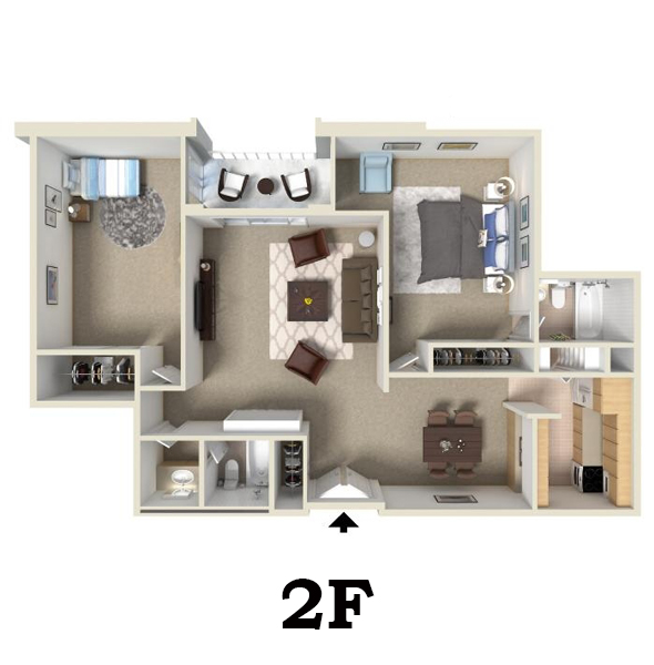 1 And 2 Bedroom Apartments For Rent